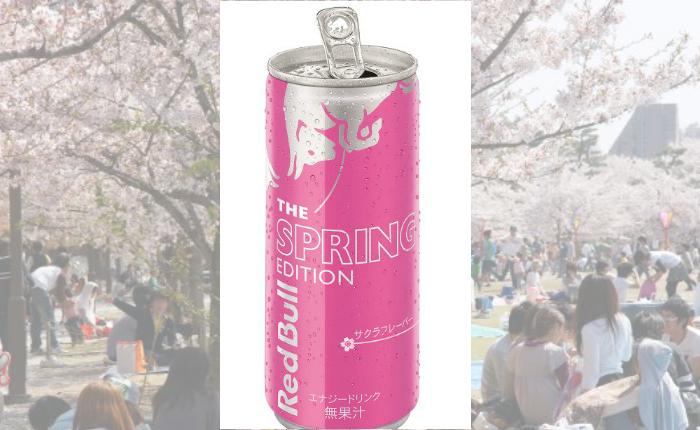 """แค่ชมความงามยังไม่พอ Red Bull ชวนดื่มด่ำในรสชาติของ """"ดอกซากุระ"""" ด้วย"""