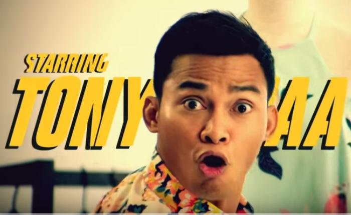 """""""จาพนม"""" บู๊สนั่นจอ ผ่านโฆษณาตัวใหม่ให้ธนาคาร DBS Hong Kong"""