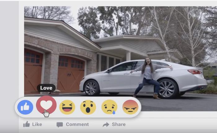โฆษณาใหม่จากรถเชฟโรเลต ที่ย้ำว่ารถคันนี้แค่กด Like ไม่พอ มันต้องกด Love
