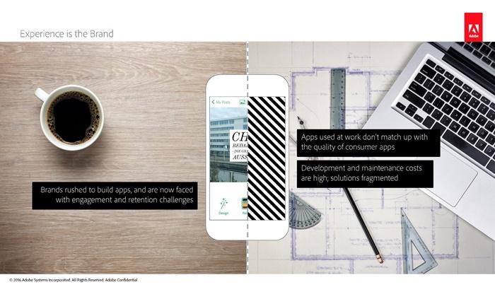 """อะโดบีประกาศทรานส์ฟอร์ม """"การสร้าง และจัดการโมบายแอพพลิเคชั่น"""" ในงาน Mobile World Congress 2016"""