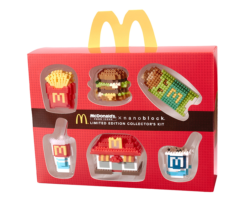 McDonalds-Food-Icons-X-nanoblocks-Limited-Edition-Collectors-Kits