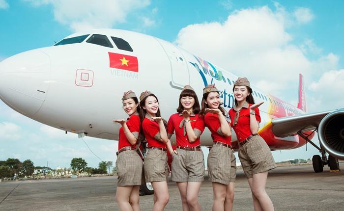 Vietjet สายการบินเปี่ยมสุขที่จะนำพาความสุขมาสู่คุณ!