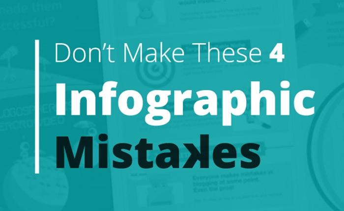 4 เรื่องผิดพลาด ที่มักเจอเมื่อทำ Infographic