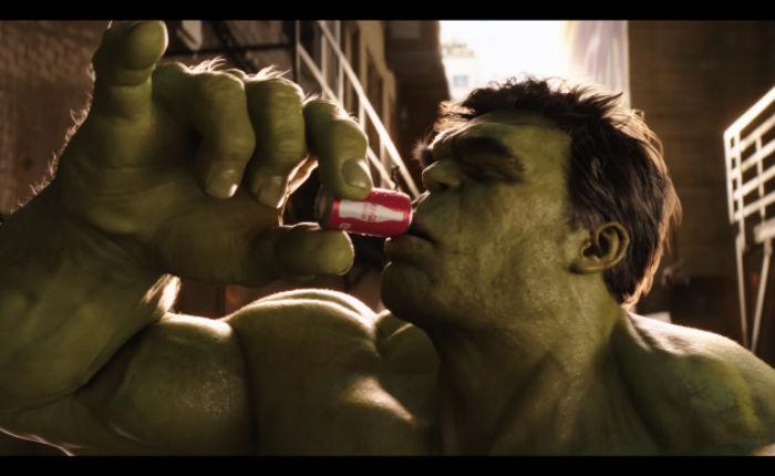 Marvel X Coca-Cola จับ Hulk ฟัด Ant-man โปรโมท Coke Mini
