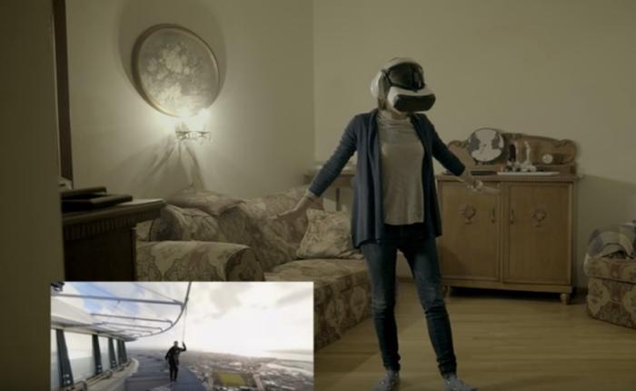 ซัมซุงใช้แว่น VR ปลุกความกล้าในตัวคุณ! ใครกลัวความสูงเชิญทางนี้!