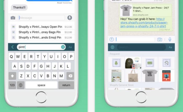 Shopify ออกแอปฯ ใหม่อัปเกรดคีย์บอร์ดสมาร์ทโฟนให้กลายเป็นผู้ช่วยส่งข้อมูลสินค้าแบบเร็วจี๋