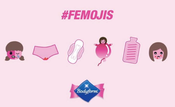 แบรนด์ผ้าอนามัย หาเรื่องดัง สร้าง Femoji อีโมจิให้สาวๆ ระบายความนัย ณ วันนั้นของเดือน