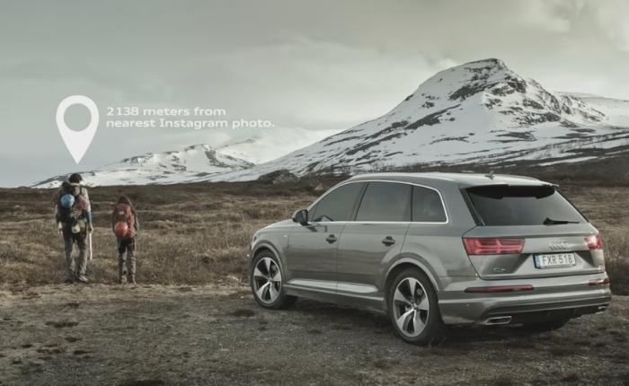 Audi ขายรถทางลัด ท้านักผจญภัยตระเวนเก็บภาพ Unseen มาอวดสายตาชาวโลกผ่านอินสตาแกรม