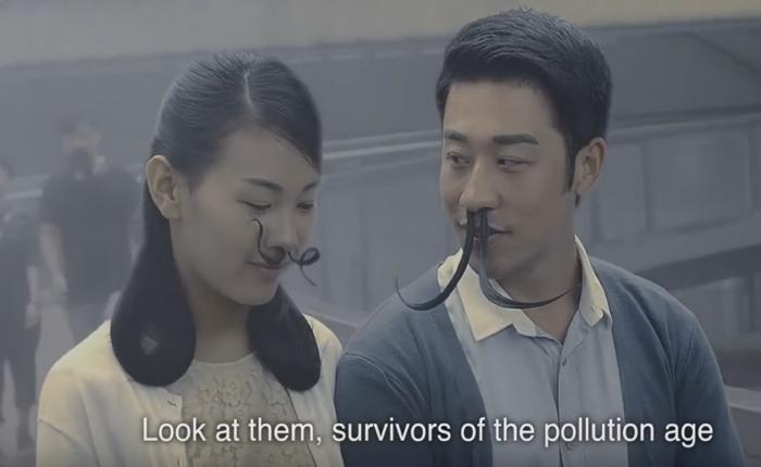 NGO จีน ส่งโฆษณาสุดอี๋! ชี้โลกวันข้างหน้าคนจะเลี้ยงขนจมูกยาวเฟื้อยกันทั้งประเทศ