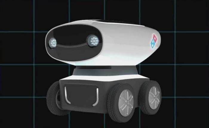 DRU หุ่นยนต์ส่งพิซซ่า พัฒนาการล่าสุดและล้ำสุดจากโดมิโน่พิซซ่า
