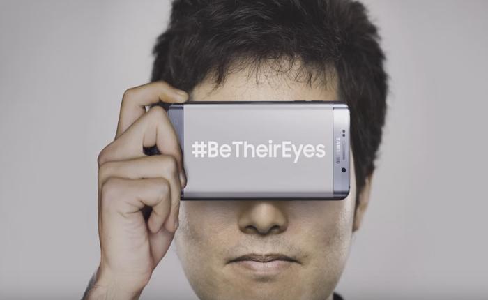 ซัมซุงกับกิจกรรม CSR สุดเจ๋ง! ใช้ข้อความใต้ภาพถ่าย Instagram ของคนตาดี มาแบ่งปันให้คนตาบอด