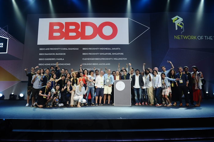 BBDO network of the year