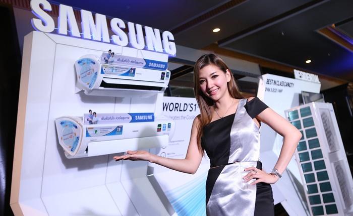 """ซัมซุงสยายปีกเปิดตัวแอร์บ้านเพื่อสุขภาพ """"Samsung The Triangle"""""""