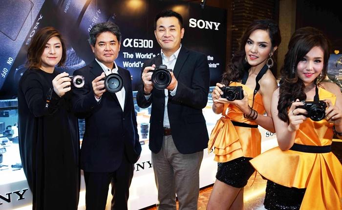 โซนี่เดินหน้าเสริมทัพธุรกิจดิจิตอล อิมเมจจิ้ง เปิดตัวกล้องมิเรอร์เลส α6300 รับเทรนด์ตลาดโต