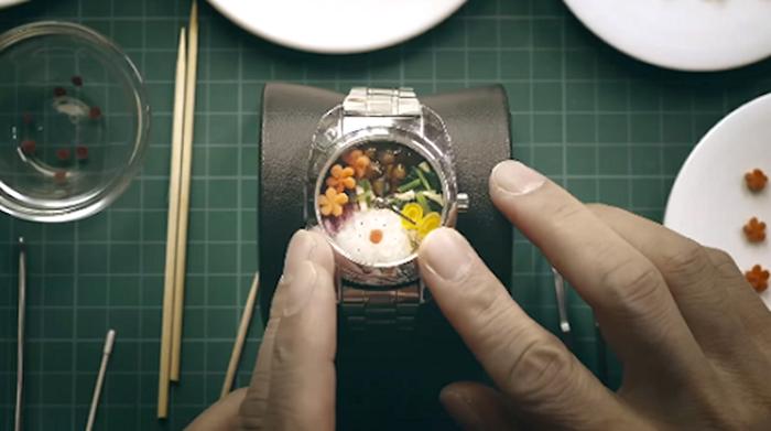 Bento Watch แคมเปญโปรโมทแบรนด์อาหารญี่ปุ่นที่แปลกถึงใจ