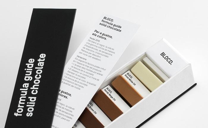 เมื่อกล่องช็อคโกแลตถูกดีไซน์ใหม่ให้เป็นตัวอย่างสีจาก PANTONE