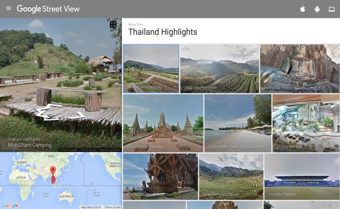 ส่องสถานที่ในฝันผ่าน Google Street View พร้อมภาพชุดใหม่ 150 ชุด แบบมุมกว้าง 360 องศา