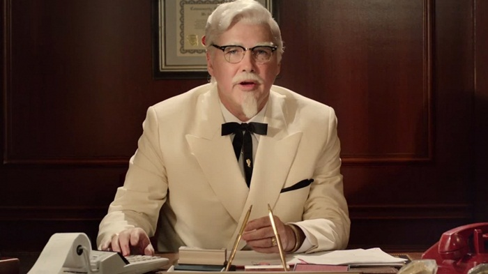 kfc-colonel-harland-commerical-video
