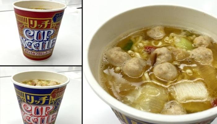 "Nissin เผยบะหมี่ถ้วยรสชาติใหม่ ""หูฉลาม"" และ ""ตะพาบน้ำ"" ในญี่ปุ่น"