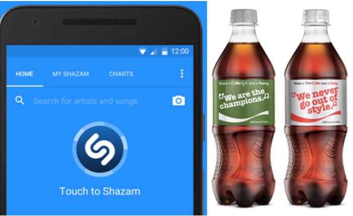 โค้กจับมือ Shazam แค่สแกนเนื้อเพลงที่กระป๋อง ก็ร้องเพลงลิปซิงได้มันกว่าใคร!