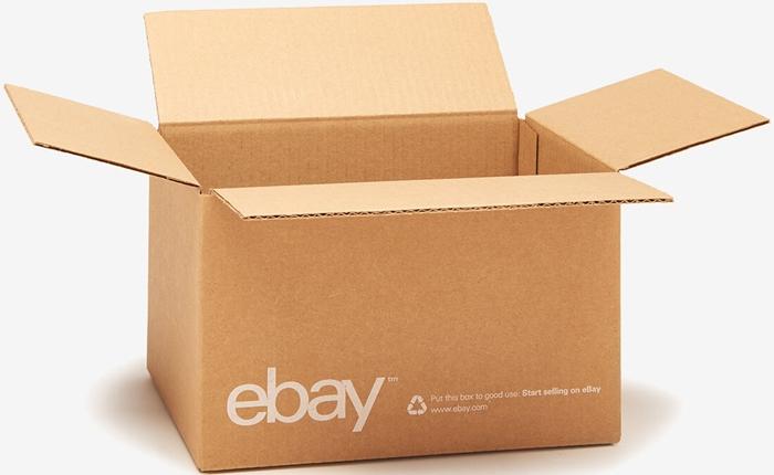 อีเบย์ เปิดตัวบริการใหม่ ขายลัง กล่อง ซอง และเทปกาวในการจัดส่งสินค้าที่เดียวครบ
