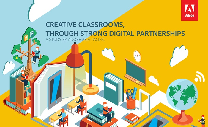 """อะโดบีเผยผลการศึกษา สิ่งที่จำเป็นที่สุดคือ """"การสร้างทักษะทางด้านดิจิตอลให้แก่นักเรียน"""""""