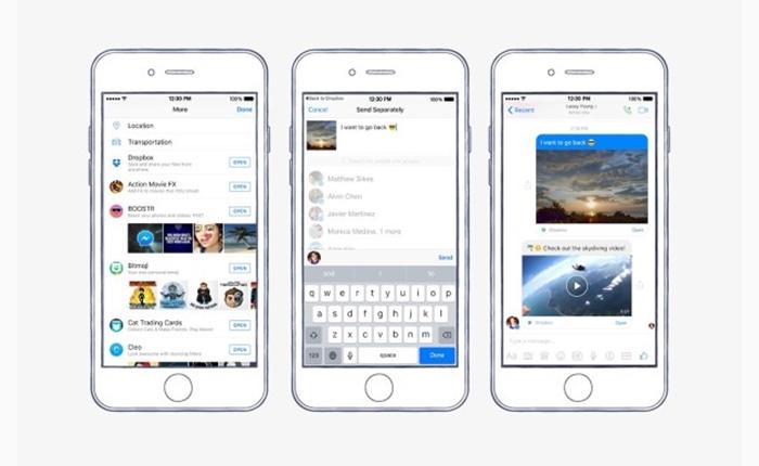 ตอนนี้คุณสามารถแชร์ไฟล์จาก Dropbox ลงบนแอพฯ Facebook Messenger ได้แล้ว