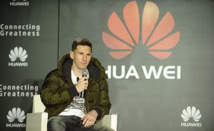 หัวเว่ยคว้า 'ลิโอเนล เมสซี่' นักฟุตบอลระดับโลกขึ้นแท่นเเบรนด์เเอมบาสเดอร์คนล่าสุด