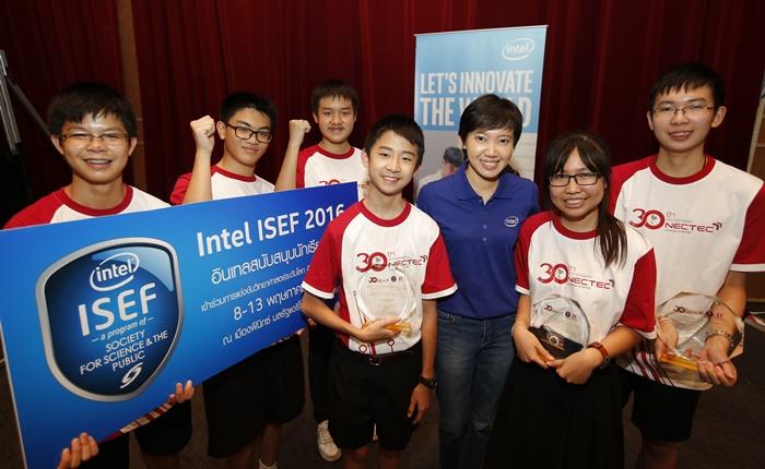 อินเทลมุ่งมั่นผลักดันเยาวชนไทยสู่เวทีโลก สนับสนุนโครงงานวิทยาศาสตร์ในการประกวดอินเทล ไอเซฟ 2016