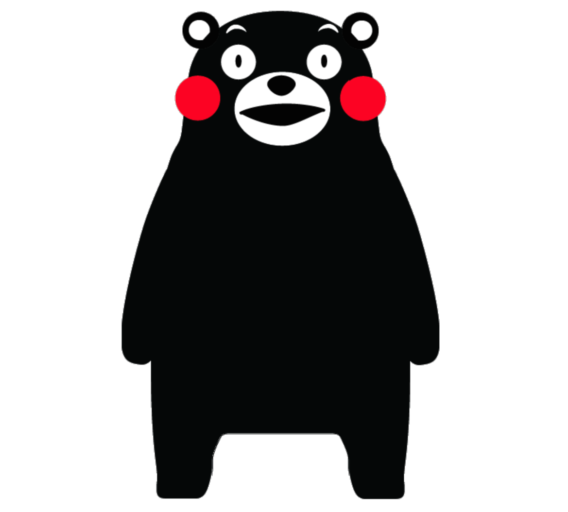 KUMAMON.ELIPSES.BEAR_.ONLY_
