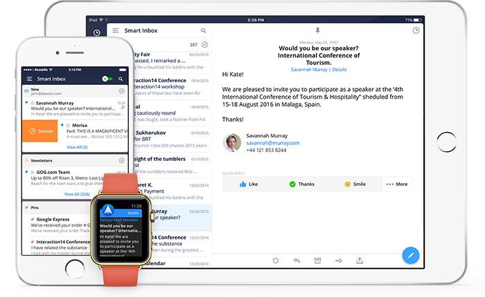 เบื่อแอพอีเมลที่มาพร้อมสมาร์ทโฟน จะใช้แอพอะไรแทนดี
