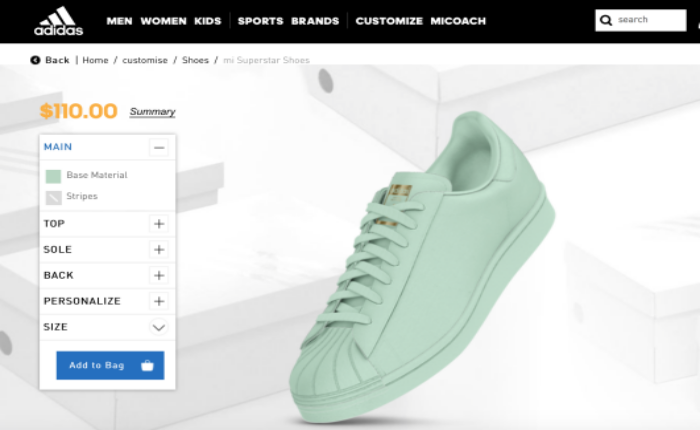 ลองดูหน่อยมั้ย? มาออกแบบรองเท้า 'MI SUPERSTAR' ของตัวเองกับ adidas กัน