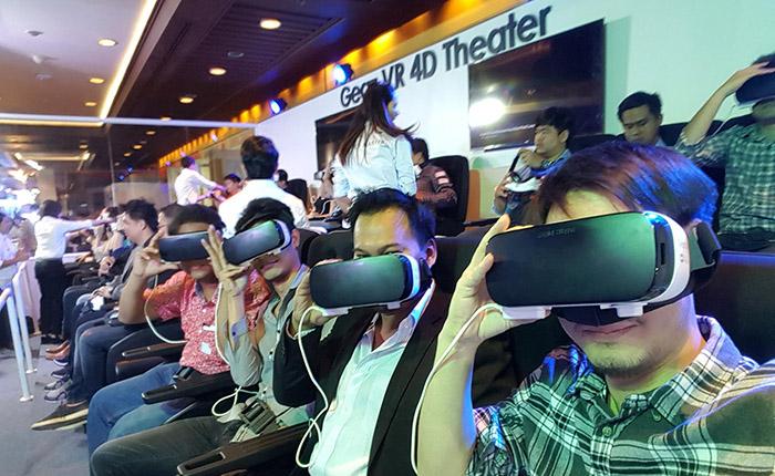 ลองเล่นหรือยัง? Samsung Gear VR 4D Theater ที่งาน ไทยแลนด์ โมบาย เอ็กซ์โป