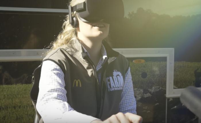 แมคโดนัลด์จัด Roadshow ใช้ VR สอนเด็กรุ่นใหม่ทำฟาร์มเสมือนจริง