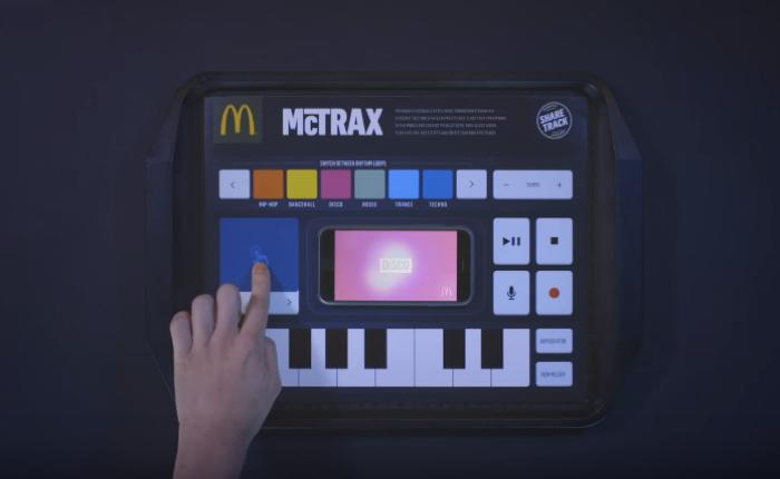 แมคฯส่ง McTrax เปลี่ยนกระดาษรองถาดให้กลายเป็นบูทดีเจมิกซ์เพลงผ่านมือถือ