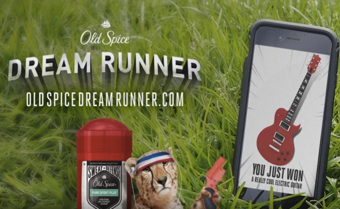 โรลออน Old Spice กระตุ้นคนให้เสียเหงื่อ จัดภารกิจวิ่งให้เป็นรูปบนแผนที่ GPS