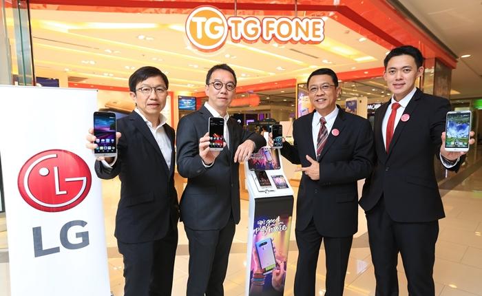 แอลจีจับมือทีจี โฟน เปิดตัว LG G5 และ LG Stylus 2 ในงานไทยแลนด์ โมบาย เอ็กซ์โป 2016