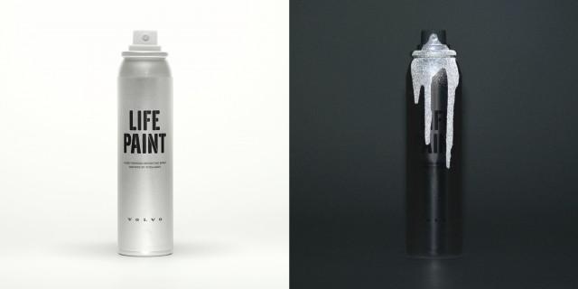 Volvo Life Paint ตัวอย่างหนึ่งการร่วมงานกันระหว่าง startup Albedo100, Volvo และ Grey Londo