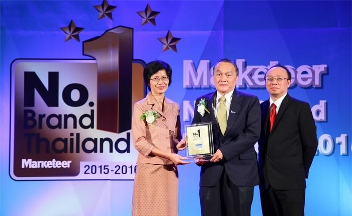 แลคตาซอย นมถั่วเหลืองยอดนิยม คว้ารางวัล No.1 Brand Thailand Awards 2015-2016