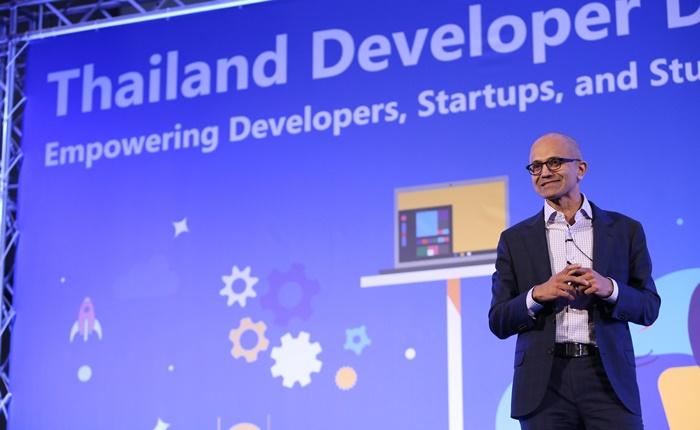 สัตยา นาเดลลา CEO Microsoft กับสุนทรพจน์เปิด Thailand Developer Day