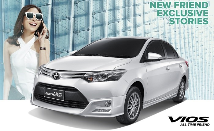 อยากให้ลองขับ โตโยต้า วีออส รุ่นปรับปรุงใหม่ และรุ่น Exclusive รถยนต์นั่งขนาดเล็กที่ลงตัวที่สุด
