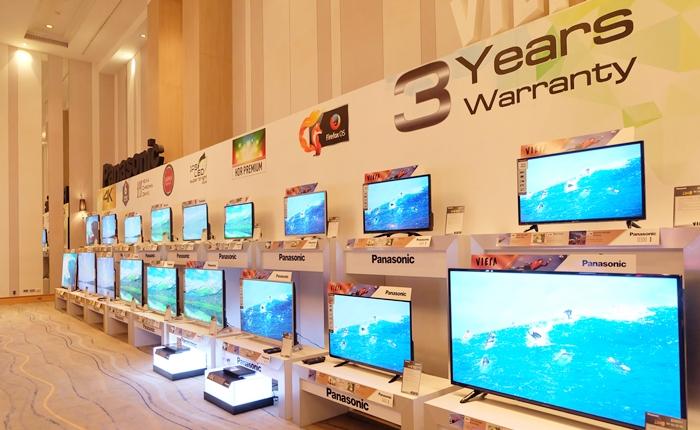พานาโซนิค ส่งเวียร่า 12 ซีรี่ส์ 22 รุ่น ตั้งเป้า Top 3 ผู้นำตลาดภาพและเสียงในไทย