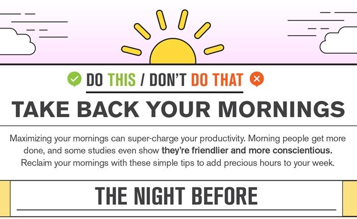 เริ่มต้นเช้าวันใหม่อย่างมีประสิทธิภาพ ด้วยวิธีง่ายๆ เหล่านี้