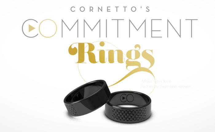 คอนเน็ตโต้เอาใจคู่รักออกแหวนคู่ แทนคำมั่นสัญญาว่าจะดูซีรีส์เรื่องโปรดพร้อมๆ กัน