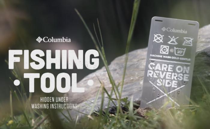 Columbia เปลี่ยนป้ายรายละเอียดสินค้า ให้กลายมาเป็นอุปกรณ์ยังชีพกลางป่า!
