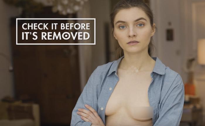 NGO ต่อต้านมะเร็งเต้านม โชว์ภาพเปลือยจะๆ กระตุ้นคนให้รีบดูก่อนโดนลบ