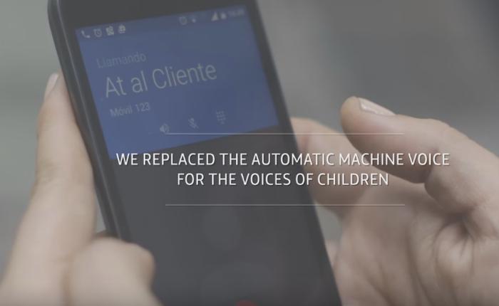 ค่ายมือถือเปลี่ยนเสียงระบบตอบรับอัตโนมัติเป็นเสียงเด็ก ฉุกคนให้คิดและลดใช้แรงงานเด็ก