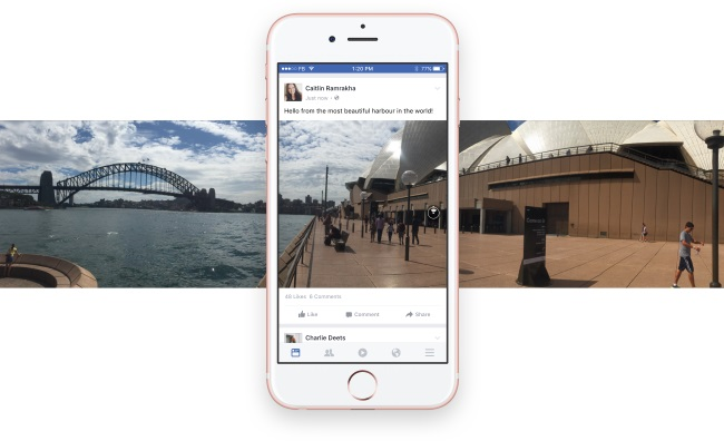 Facebook360PhotoSyndeyNewsFeed