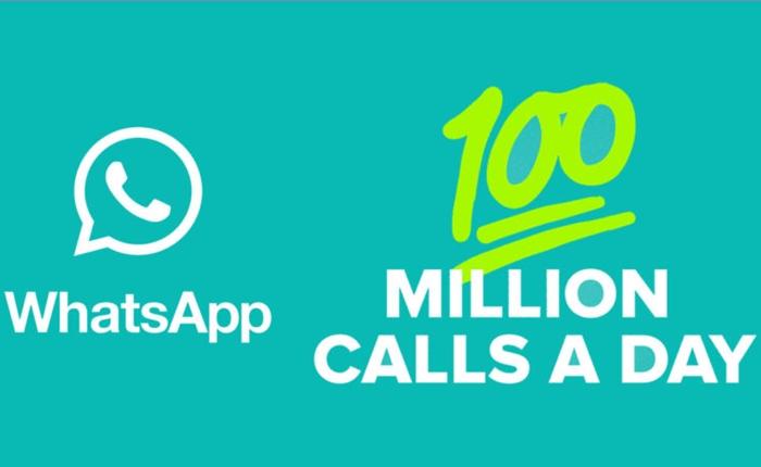 WhatsApp ทำสถิติใหม่ มียอดผู้ใช้ฟีเจอร์โทรออกด้วยเสียงแตะ 100 ล้านครั้งต่อวัน
