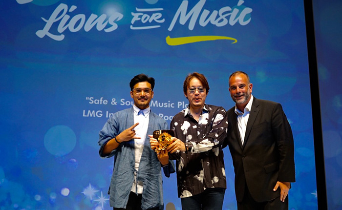 BBDO Bangkok คว้า Gold Lion สาขา Entertainment Lions for Music #CannesLions2016